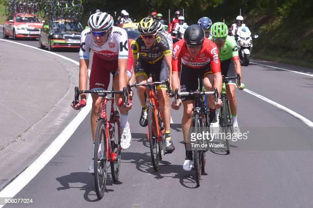 104th Tour de France 2017 / Stage 3 Nils POLITT / Romain SICARD / Adam HANSEN / Nathan BROWN / Verviers LongwyCote des Religieuses 379m / TDF/