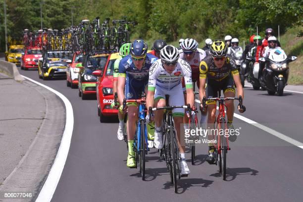 104th Tour de France 2017 / Stage 3 Romain HARDY / Frederik BACKAERT / Romain SICARD / Nils POLITT / Verviers LongwyCote des Religieuses 379m / TDF/