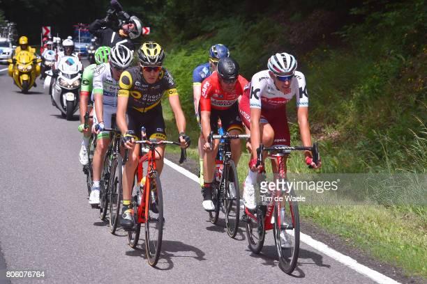104th Tour de France 2017 / Stage 3 Romain SICARD / Nils POLITT / Adam HANSEN / Verviers LongwyCote des Religieuses 379m / TDF/