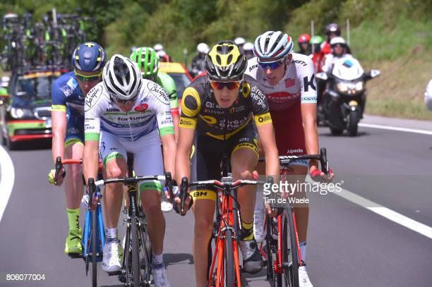 104th Tour de France 2017 / Stage 3 Romain SICARD / Romain HARDY / Nils POLITT / Frederik BACKAERT / Verviers LongwyCote des Religieuses 379m / TDF/