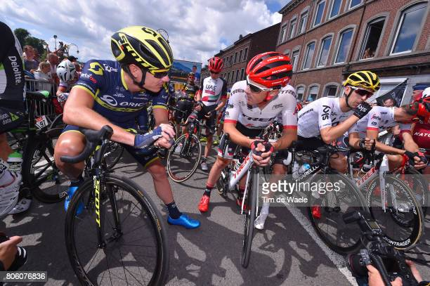 104th Tour de France 2017 / Stage 3 Start / Daryl IMPEY / Haimar ZUBELDIA / Mikel NIEVE ITURALDE / Verviers LongwyCote des Religieuses 379m / TDF/