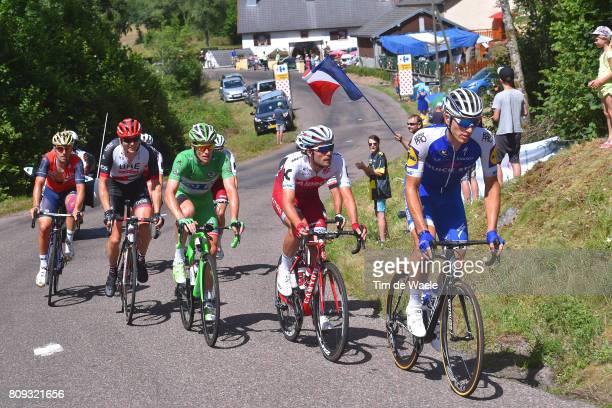 104th Tour de France 2017 / Stage 5 Marcel KITTEL / Rick ZABEL / Arnaud DEMARE Green Sprint Jersey / Ben SWIFT / Vittel La Planche des Belles Filles...