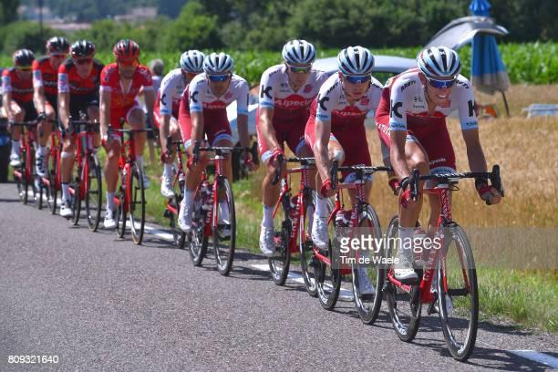 104th Tour de France 2017 / Stage 5 Nils POLITT / Tony MARTIN / Team Katusha Alpecin / Vittel La Planche des Belles Filles 1035m / TDF/