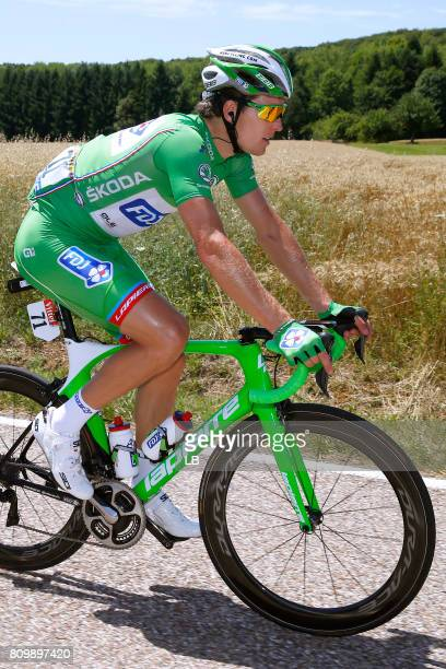 104th Tour de France 2017 / Stage 6 Arnaud DEMARE Green Sprint Jersey / Vesoul Troyes / TDF /