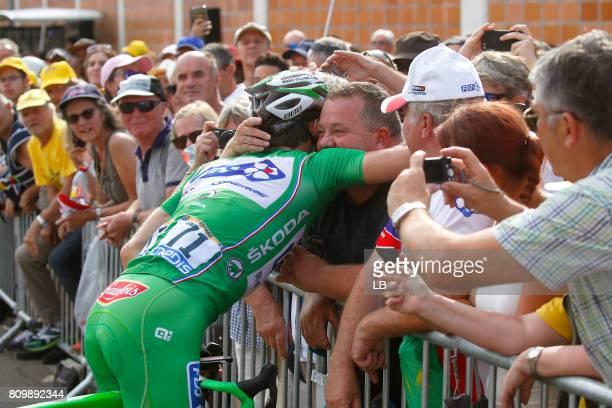 104th Tour de France 2017 / Stage 6 Arrival / Arnaud DEMARE Green Sprint Jersey / Public / Fan / Vesoul Troyes / TDF /