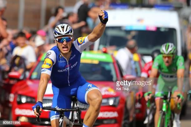104th Tour de France 2017 / Stage 6 Arrival / Marcel KITTEL Celebration / Arnaud DEMARE Green Sprint Jersey / Vesoul Troyes / TDF /