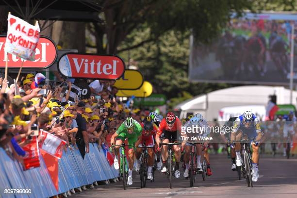 104th Tour de France 2017 / Stage 6 Arrival Sprint / Arnaud DEMARE Green Sprint Jersey / Nacer BOUHANNI / Andre GREIPEL / Marcel KITTEL / Alexander...