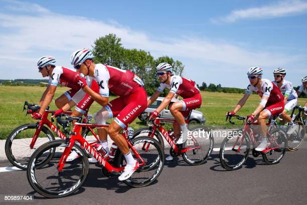 104th Tour de France 2017 / Stage 6 Reto HOLLENSTEIN / Rick ZABEL / Tony MARTIN / Nils POLITT / Vesoul Troyes / TDF /