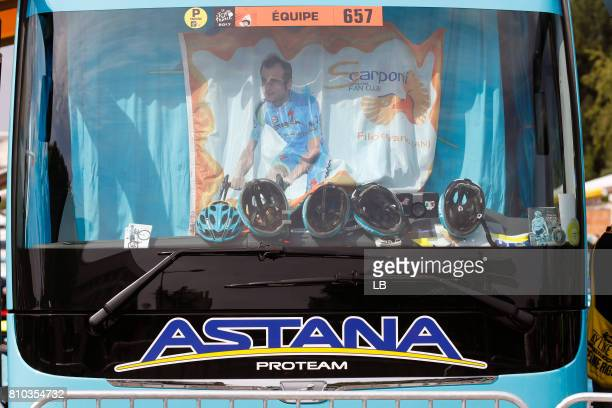 104th Tour de France 2017 / Stage 7 Bus / Astana Pro Team / Flag / Michele SCARPONI / Troyes Nuits Saint Georges / TDF /