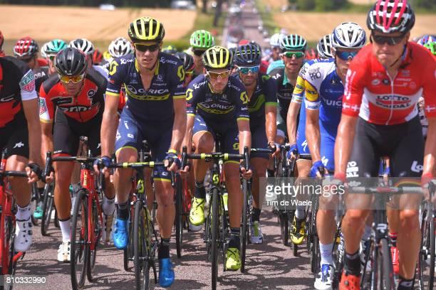 104th Tour de France 2017 / Stage 7 Greg VAN AVERMAET / Roman KREUZIGER / Daniele BENNATI / Troyes Nuits Saint Georges / TDF/