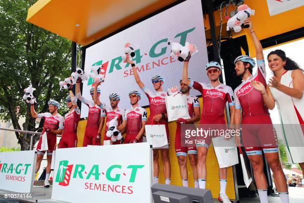 104th Tour de France 2017 / Stage 7 Tony MARTIN / Marco HALLER / Reto HOLLENSTEIN / Robert KISERLOVSKI / Alexander KRISTOFF / Maurits LAMMERTINK /...
