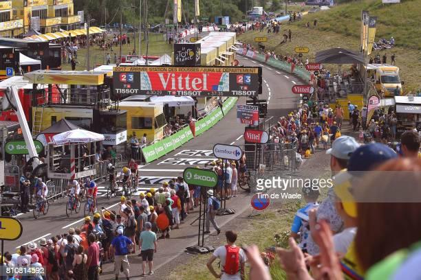 104th Tour de France 2017 / Stage 8 Arrival / Arnaud DEMARE / Landscape / Dole Station des Rousses 1178m / TDF /