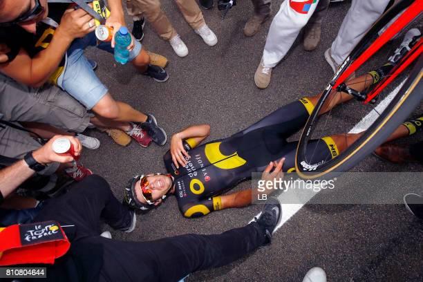 104th Tour de France 2017 / Stage 8 Arrival / Lilian CALMEJANE / Dole Station des Rousses 1178m / TDF /