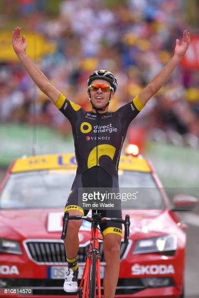 104th Tour de France 2017 / Stage 8 Arrival / Lilian CALMEJANE / Celebration / Dole Station des Rousses 1178m / TDF /