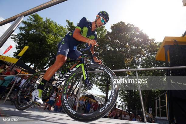 104th Tour de France 2017 / Stage 8 Daniele BENNATI / Dole Station des Rousses 1178m / TDF /