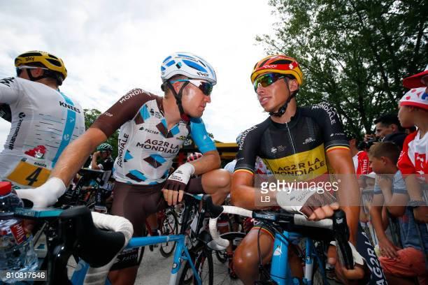 104th Tour de France 2017 / Stage 8 Jan BAKELANTS / Oliver NAESEN / Dole Station des Rousses 1178m / TDF /