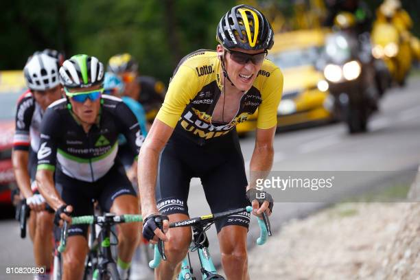 104th Tour de France 2017 / Stage 8 Robert GESINK / Serge PAUWELS / Dole Station des Rousses 1178m / TDF /