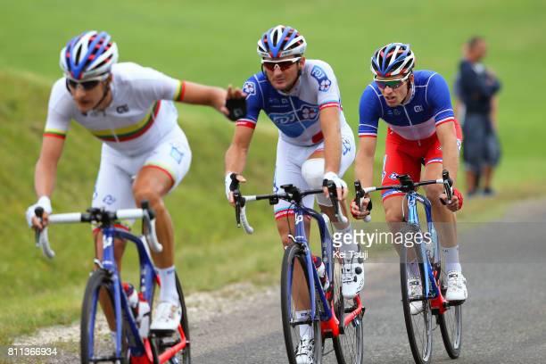 104th Tour de France 2017 / Stage 9 Arnaud DEMARE / Mickael DELAGE / Ignatas KONOVALOVAS / Nantua Chambery / TDF/