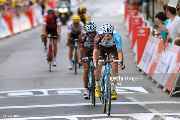 104th Tour de France 2017 / Stage 9 Arrival / Pierre LATOUR / Axel DOMONT / Nantua Chambery / TDF/