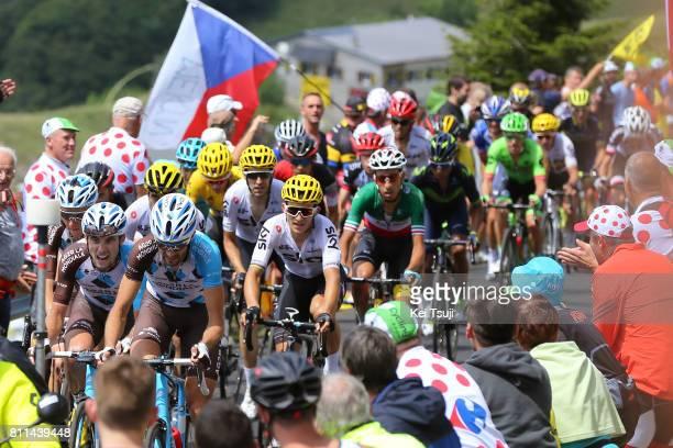 104th Tour de France 2017 / Stage 9 Ben GASTAUER / Pierre LATOUR / Michal KWIATKOWSKI / Nantua Chambery / TDF/