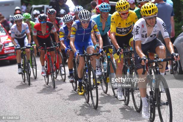 104th Tour de France 2017 / Stage 9 Mikel NIEVE ITURALDE / Daniel MARTIN / Christopher FROOME Yellow Leader Jersey / Jakob FUGLSANG / Richie PORTE /...