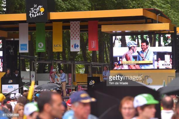 104th Tour de France 2017 / Stage 9 Start / Podium / Pierre LATOUR / Nantua Chambery / TDF/