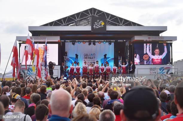 104th Tour de France 2017 / Team Presentation / Marco HALLER / Reto HOLLENSTEIN / Reto HOLLENSTEIN / Robert KISERLOVSKI / Alexander KRISTOFF /...