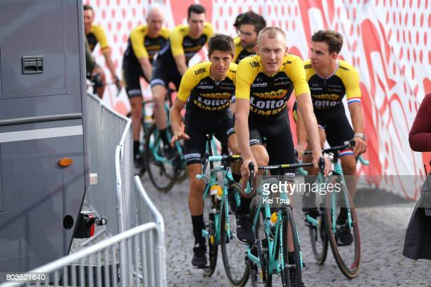 104th Tour de France 2017 / Team Presentation Team LOTTO NL JUMBO / George BENNETT / Robert GESINK / Dylan GROENEWEGEN / Team Presentation / TDF/