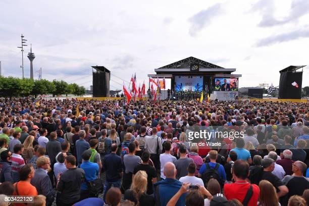104th Tour de France 2017 / Team Presentation Team MOVISTAR TEAM / Andrey AMADOR / Daniele BENNATI / Carlos BETANCUR / Jonathan CASTROVIEJO / Imanol...