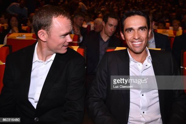 105th Tour de France 2018 / Presentation Chris FROOME / Alberto CONTADOR / Le Palais des Congres / Presentation TDF / ©Tim De WaeleLC/Tim De...