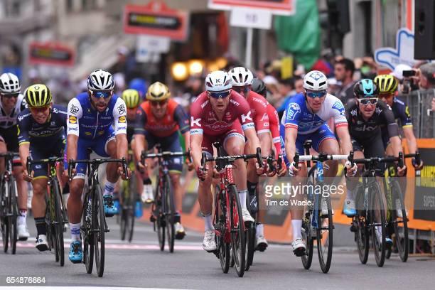 108th MilanSanremo 2017 Arrival / Sprint / Caleb EWAN / Fernando GAVIRIA / Alexander KRISTOFF / Arnaud DEMARE / Nacer BOUHANNI /John DEGENKOLB / Elia...