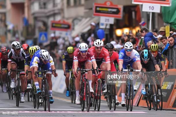 108th MilanSanremo 2017 Arrival / Sprint / Fernando GAVIRIA / Alexander KRISTOFF / Arnaud DEMARE / Nacer BOUHANNI /John DEGENKOLB / Elia VIVIANI /...