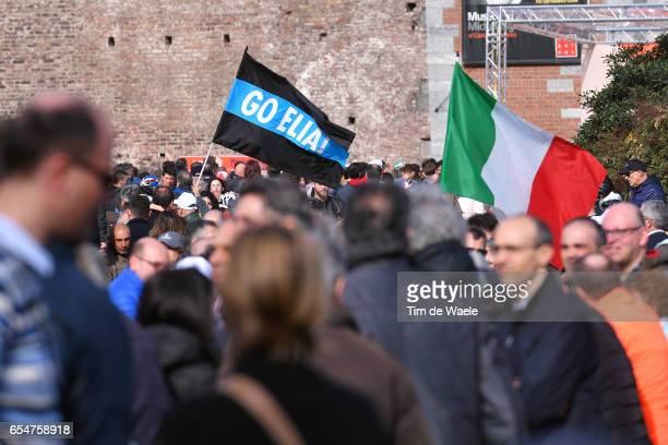 108th MilanSanremo 2017 Start / Elia VIVIANI / Fans / Public / Milano Sanremo / ©Tim De Waele