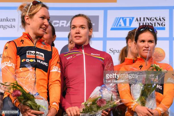 10th Open de Suede Vargarda 2017 / Women TTT Amy PIETERS / Anna VAN DER BREGGEN UCI leaders Jersey / KarolAnn CANUEL / Vargarda Vargarda / Team Time...
