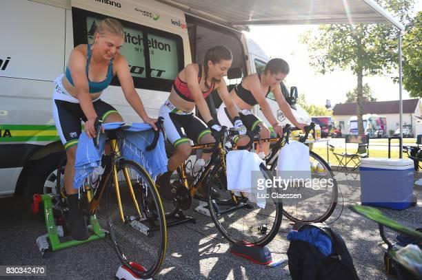 10th Open de Suede Vargarda 2017 / Women TTT Lucy KENNEDY / Shannon MALSEED / Grace BROWN / Louisa LOBINGS / Alexandra MANLY / Jessica PRATT /...
