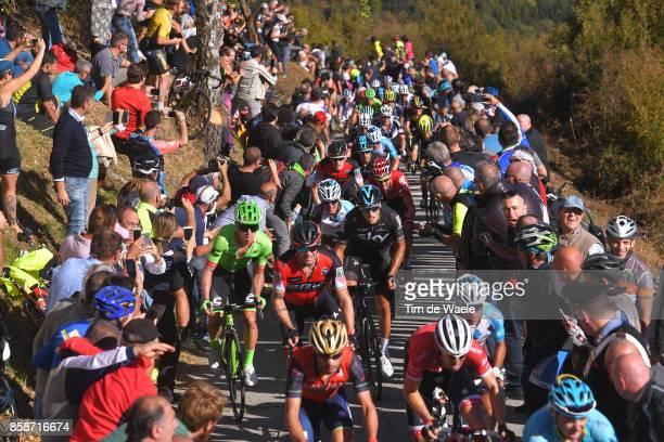 111th Il Lombardia 2017 Gianni MOSCON / Rigoberto URAN / Nicolas ROCHE / Ben HERMANS / Alexis VUILLERMOZ / Peloton / Fans / Public / Colma Di Sormano...