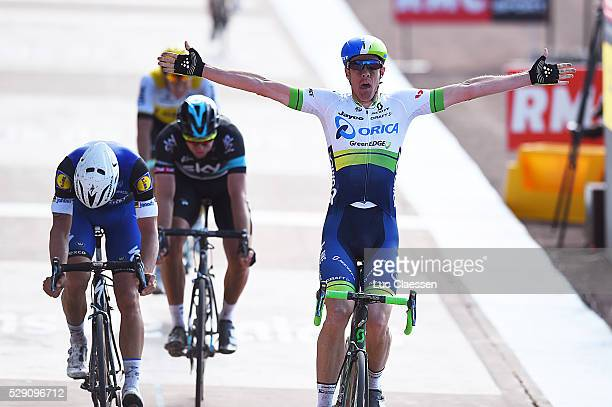 114th Paris Roubaix 2016 Arrival / HAYMAN Mathew Celebration Joie Vreugde / BOONEN Tom / STANNARD Ian / VANMARCKE Sep / Compiegne Roubaix / Parijs PR...