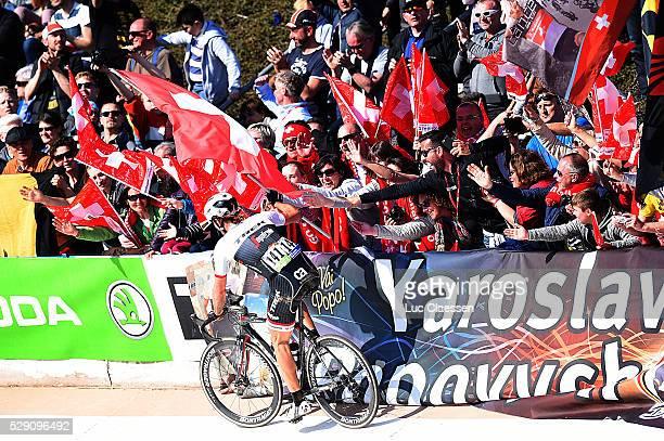114th Paris Roubaix 2016 Fabian Celebration / Fans Supporters Public / Compiegne Roubaix / Parijs PR / Tim De WaeleLC/Tim De Waele/Corbis via Getty...