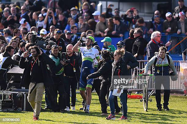 114th Paris Roubaix 2016 Matthew Celebration Joie Vreugde / Compiegne Roubaix / Parijs PR / Tim De WaeleLC/Tim De Waele/Corbis via Getty Images