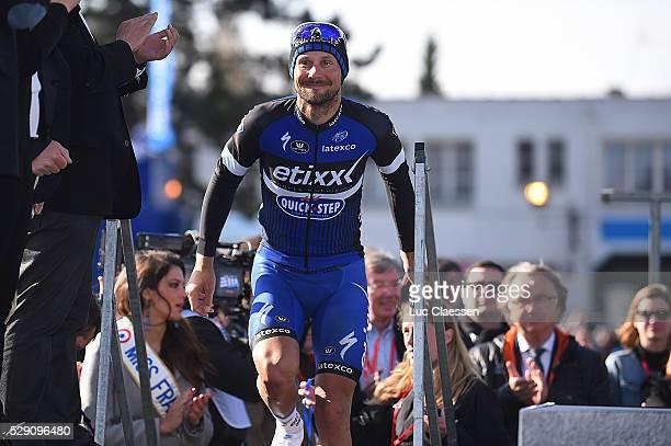 114th Paris Roubaix 2016 Podium / BOONEN Tom / Compiegne Roubaix / Parijs PR / Tim De WaeleLC/Tim De Waele/Corbis via Getty Images