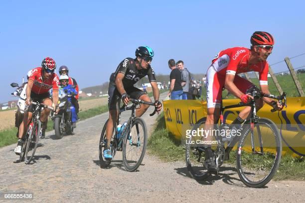 115th Paris Roubaix 2017 Dimitri CLAEYS / Gianni MOSCON / Jurgen ROELANDTS / Compiegne Paris Roubaix / PR /