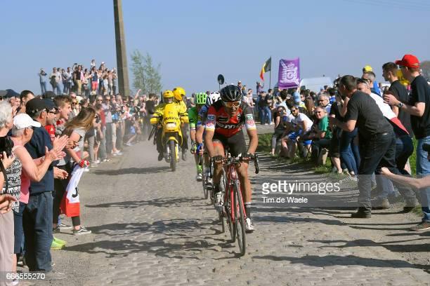115th Paris Roubaix 2017 Greg VAN AVERMAET / Zdenek STYBAR / Compiegne Paris Roubaix / PR / pool bp