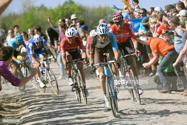 115th Paris Roubaix 2017 Oliver NAESEN / John DEGENKOLB / Marcel SIEBERG / Compiegne Paris Roubaix / PR / pool bp