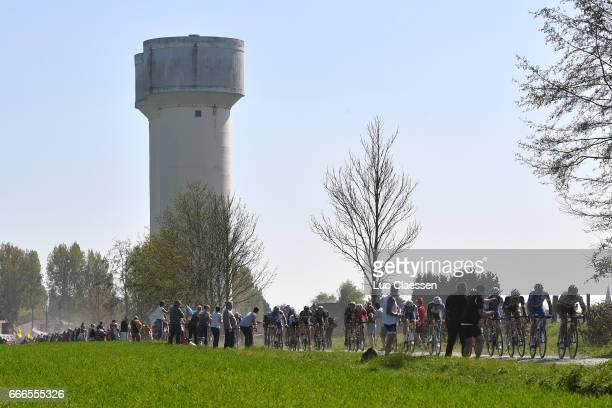 115th Paris Roubaix 2017 Peloton / Hornaing a Wandignies / Landscape / Compiegne Paris Roubaix / PR /