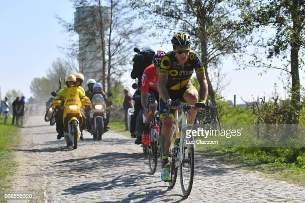 115th Paris Roubaix 2017 Sylvain CHAVANEL / Jelle WALLAYS / Compiegne Paris Roubaix / PR /