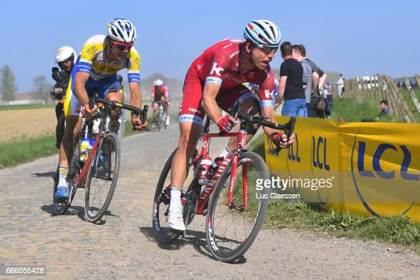 115th Paris Roubaix 2017 Tony MARTIN / Bert VAN LERBERGHE / Compiegne Paris Roubaix / PR /
