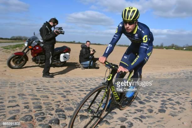 115th Paris Roubaix 2017 / Training Day 1 Jens KEUKELEIRE / Carrefour de L'Arbre / Training / PR /
