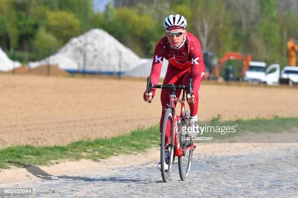 115th Paris Roubaix 2017 / Training Day 1 Tony MARTIN / Carrefour de L'Arbre / PR /