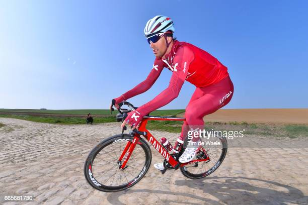 115th Paris Roubaix 2017 / Training Day 2 Reto HOLLENSTEIN / Team Katusha Alpecin / Training / PR /