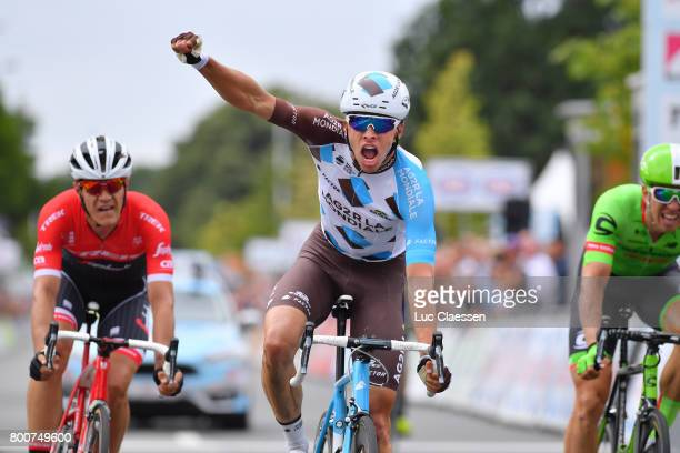 118th Belgian Road Championship 2017 / Elite Men Arrival / Oliver NAESEN Celebration/ Sep VANMARCKE / Jasper STUYVEN / Antwerp Antwerp / BRC/